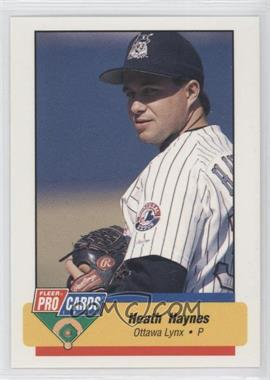1994 Fleer ProCards Minor League #2897 - Heath Haynes