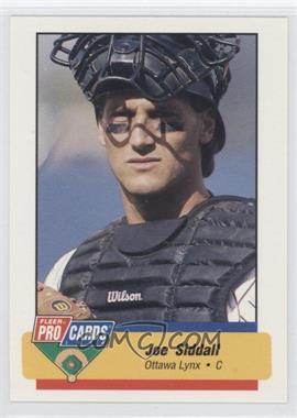 1994 Fleer ProCards Minor League #2901 - Joe Siddall