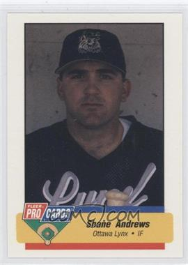 1994 Fleer ProCards Minor League #2902 - Shane Andrews