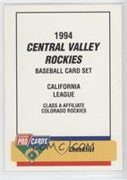 Central Valley Rockies Team