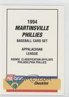 Martinsville Phillies Team