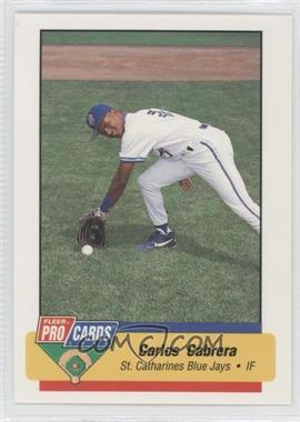 1994 Fleer ProCards Minor League #3649 - Carlos Cabrera