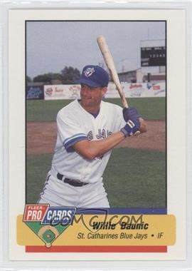1994 Fleer ProCards Minor League #3650 - Willie Daunic