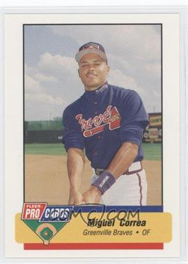 1994 Fleer ProCards Minor League #424 - Miguel Correa