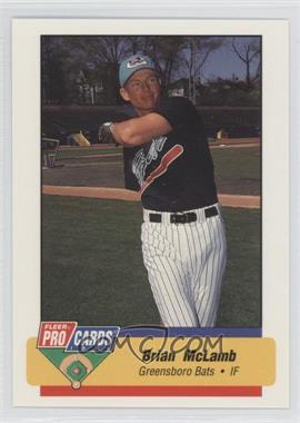 1994 Fleer ProCards Minor League #484 - Brian McLamb