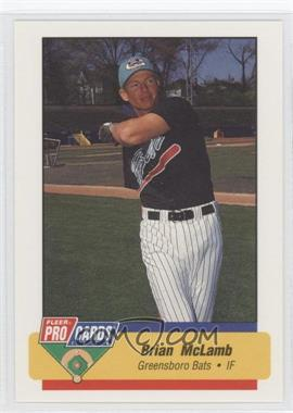 1994 Fleer ProCards Minor League #484 - Brian McRae