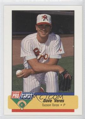 1994 Fleer ProCards Minor League #762 - Dave Veres