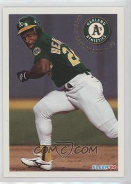 1994 Fleer Update - Box Set [Base] #U74 - Rickey Henderson