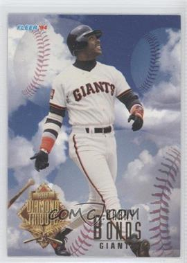 1994 Fleer Update - Box Set Diamond Tribute #1 - Barry Bonds