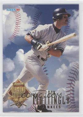 1994 Fleer Update - Box Set Diamond Tribute #6 - Don Mattingly