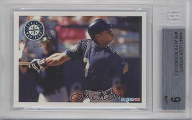 1994 Fleer Update Box Set [Base] #U86 - Alex Rodriguez [BGS 9]