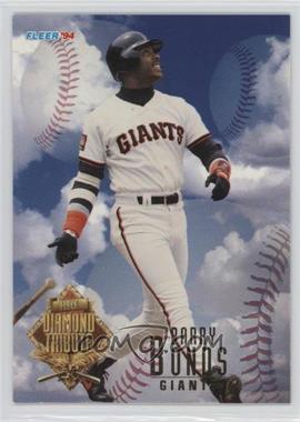 1994 Fleer Update Box Set Diamond Tribute #1 - Barry Bonds