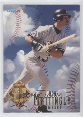 1994 Fleer Update Box Set Diamond Tribute #6 - Don Mattingly