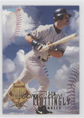 1994 Fleer Update Box Set Diamond Tribute #6 - Don Mattingly