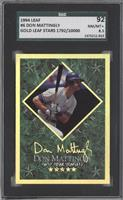 Don Mattingly /10000 [SGC 92]