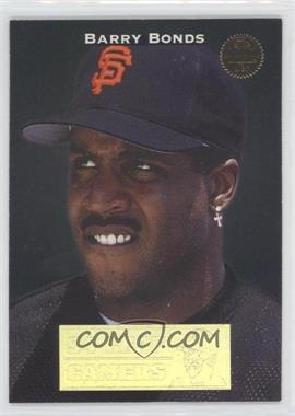 1994 Leaf Gamers #8 - Barry Bonds