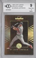 Gregg Jefferies /10000 [ENCASED]
