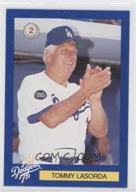 1994 Los Angeles Dodgers D.A.R.E. - [Base] #2 - Tom Lasorda