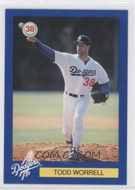 1994 Los Angeles Dodgers D.A.R.E. #38 - Todd Worrell