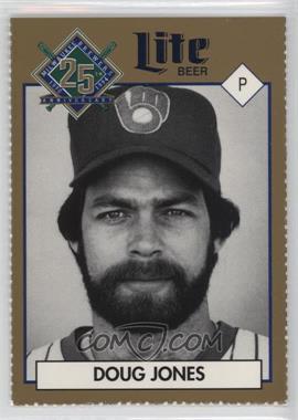 1994 Miller Brewing Milwaukee Brewers 25 Year Commemorative - [Base] #DOJO - Doug Jones