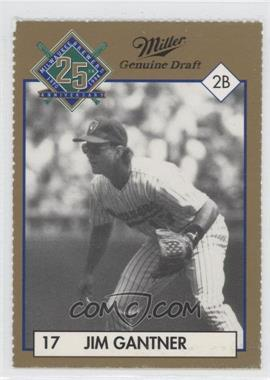 1994 Miller Brewing Milwaukee Brewers 25 Year Commemorative - [Base] #JIGA - Jim Gantner