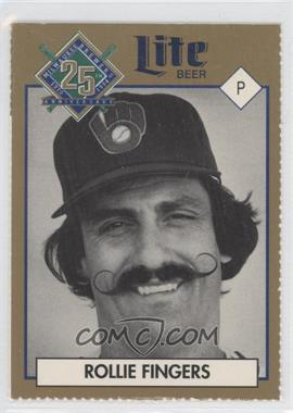 1994 Miller Brewing Milwaukee Brewers 25 Year Commemorative #ROFI - Rollie Fingers