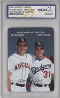 Tim Salmon, Mike Piazza [ENCASED]