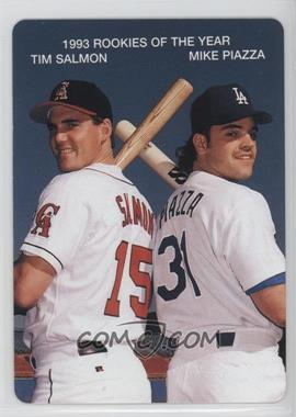 1994 Mother's Cookies 1993 Rookies of the Year - Food Issue [Base] #4 - Tim Salmon, Mike Piazza