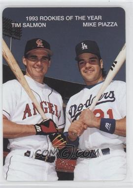 1994 Mother's Cookies 1993 Rookies of the Year Food Issue [Base] #1 - Tim Salmon, Mike Piazza