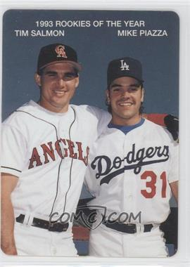 1994 Mother's Cookies 1993 Rookies of the Year Food Issue [Base] #2 - Tim Salmon, Mike Piazza