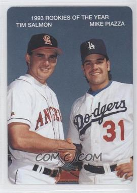 1994 Mother's Cookies 1993 Rookies of the Year Food Issue [Base] #3 - Tim Salmon, Mike Piazza