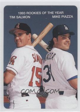 1994 Mother's Cookies 1993 Rookies of the Year Food Issue [Base] #4 - Tim Salmon, Mike Piazza