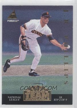1994 Pinnacle Rookie Team Pinnacle #RTP 2 - [Missing]