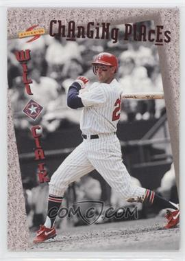 1994 Score Rookie & Traded Changing Places #CP1 - Will Clark
