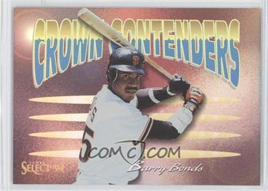 1994 Score Select - Crown Contenders #CC6 - Barry Bonds