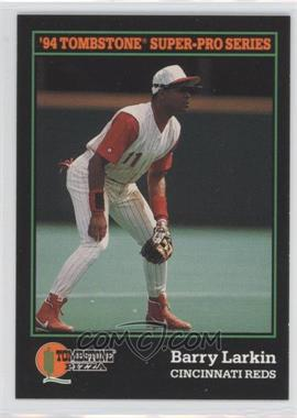 1994 Score Tombstone Pizza Food Issue [Base] #13 - Barry Larkin