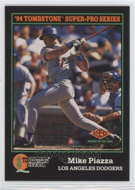1994 Score Tombstone Pizza Food Issue [Base] #15 - Mike Piazza