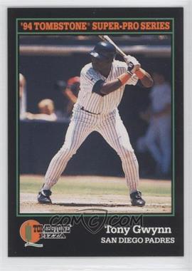 1994 Score Tombstone Pizza Food Issue [Base] #8 - Tony Gwynn