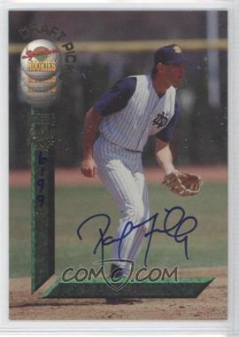 1994 Signature Rookies Draft Picks - [Base] - Autographs [Autographed] #59 - Paul Failla /7750
