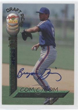 1994 Signature Rookies Draft Picks Autographs [Autographed] #54 - Bryon Gainey /7750