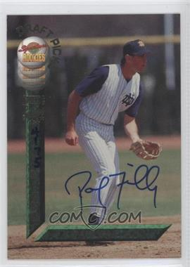 1994 Signature Rookies Draft Picks Autographs [Autographed] #59 - Paul Failla /7750