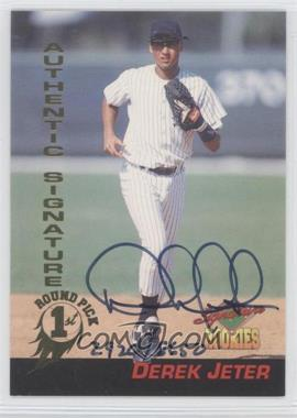 1994 Signature Rookies Signatures [Autographed] #35 - Derek Jeter /8650