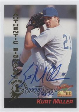 1994 Signature Rookies Signatures [Autographed] #38 - Kurt Miller /8650