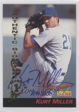 1994 Signature Rookies Signatures #38 - Kurt Miller /8650