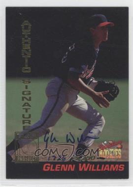 1994 Signature Rookies Tuff Stuff Promos Signatures [Autographed] #P5 - Glenn Williams /1562