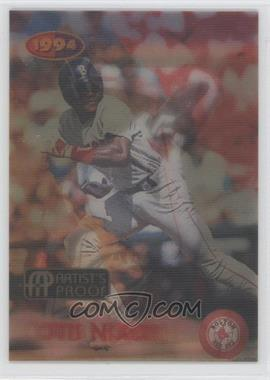 1994 Sportflics 2000 Rookie & Traded Artist's Proof #36 - Otis Nixon