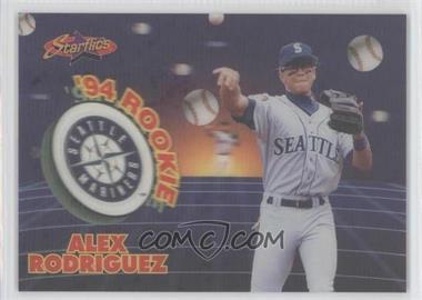 1994 Sportflics 2000 Rookie & Traded Starflics #TR11 - Alex Rodriguez /5000
