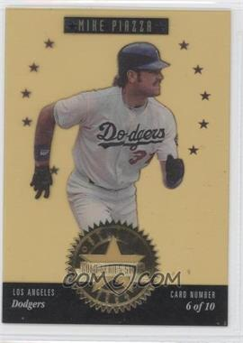 1994 Studio Gold Series Stars #6 - Mike Piazza /5000