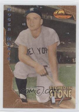 1994 Ted Williams Card Company - Etched in Stone #ES1 - Roger Maris