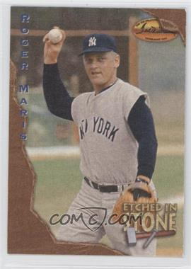 1994 Ted Williams Card Company - Etched in Stone #ES7 - Roger Maris